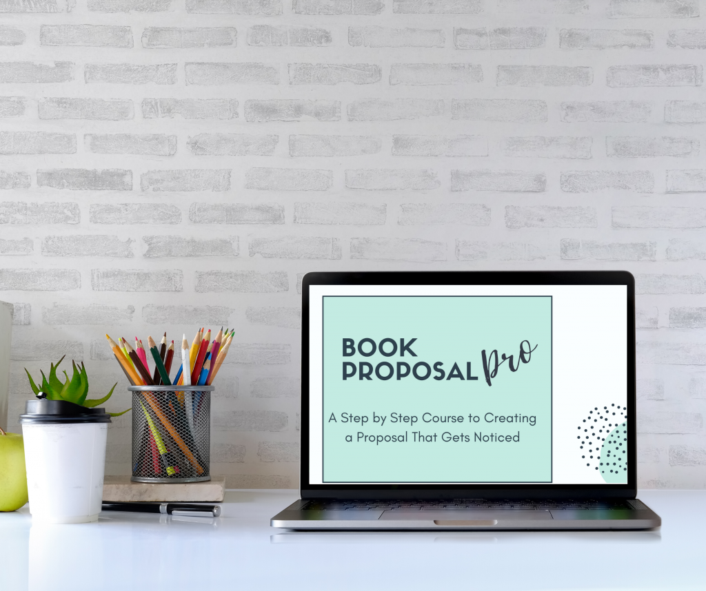 Book Proposal Pro Hi Res Laptop No Copyright