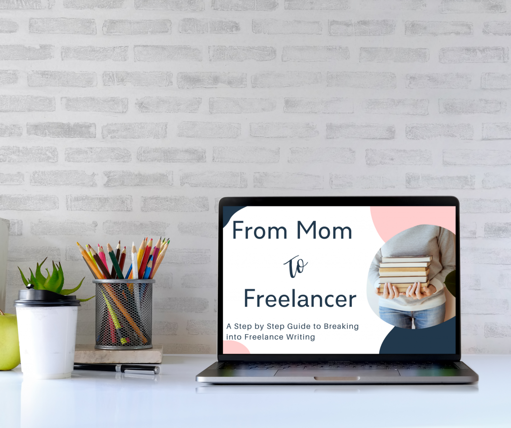 From mom to freelancer hi res laptop no copyright