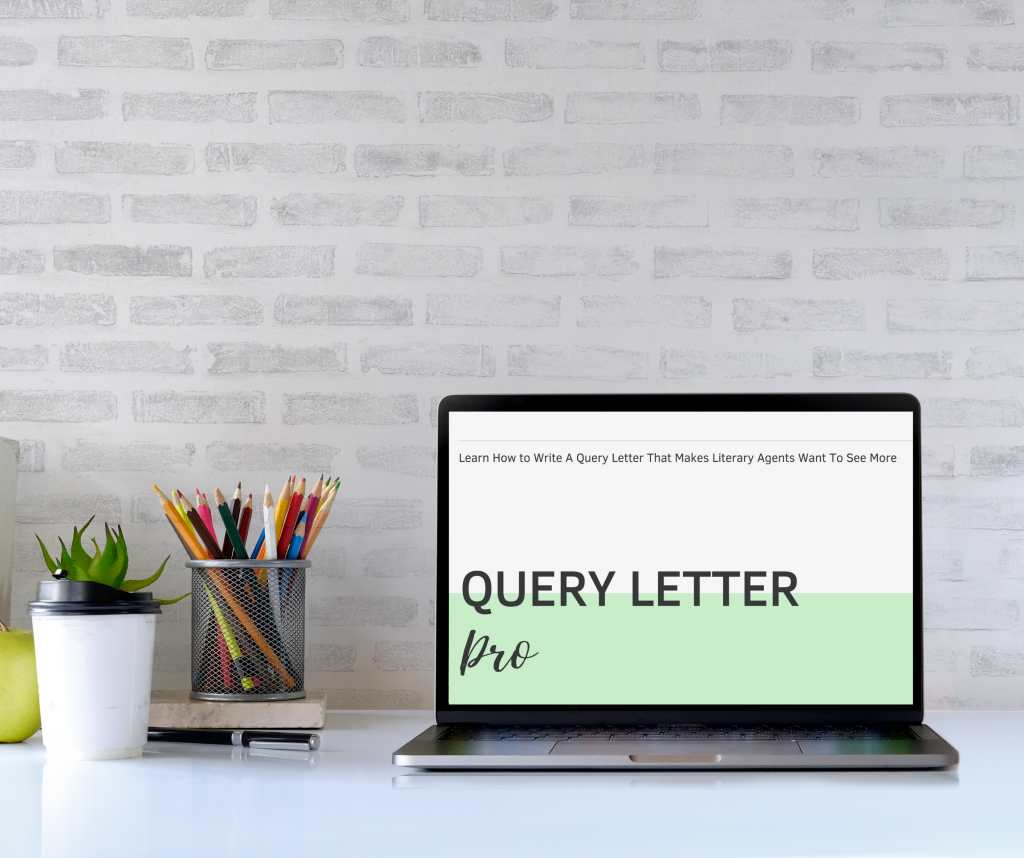 Query Letter Pro Hi Res Laptop No Copyright
